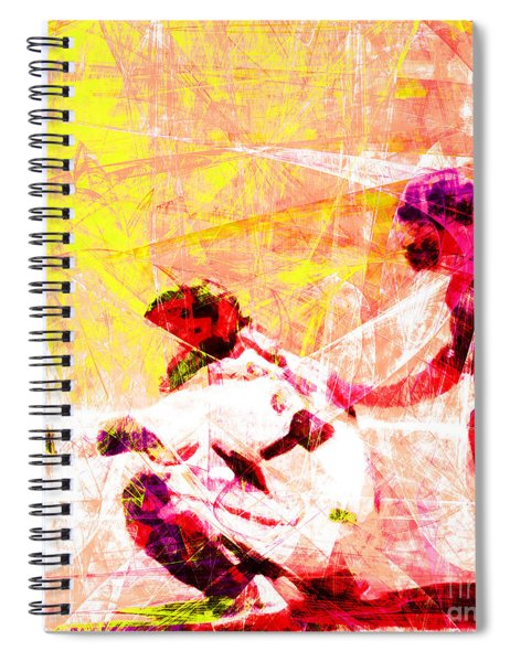 The Boys Of Summer 5d28228 The Catcher Square V2 Spiral Notebook