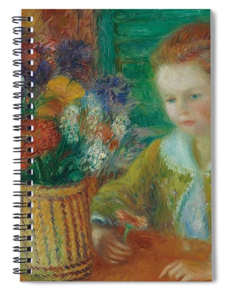 The Breakfast Porch Spiral Notebook