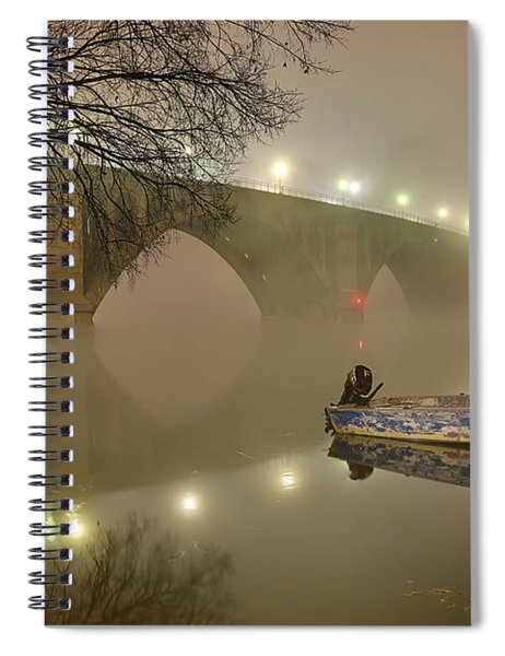 The Bridge To Nowhere Spiral Notebook