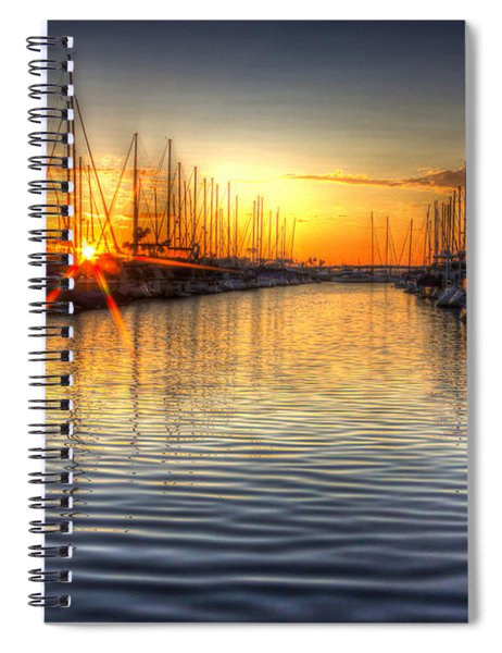 The Brightest Star In The Sky Spiral Notebook