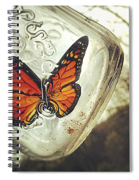 The Butterfly Spiral Notebook
