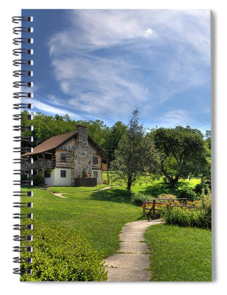 The Cabin Spiral Notebook
