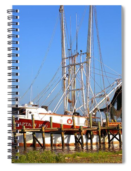 The Captain Hw Spiral Notebook