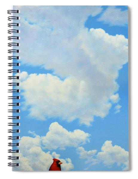 The Cardinal Spiral Notebook