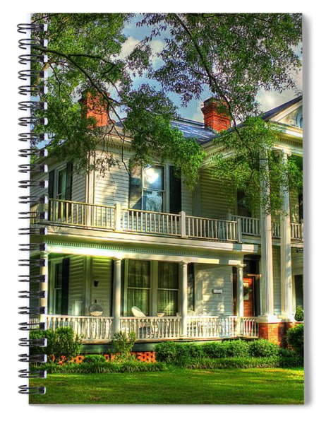 A Southern Bell The Carlton Home Art Southern Antebellum Art Spiral Notebook