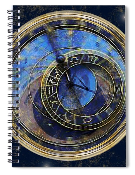 The Carousel Of Time Spiral Notebook