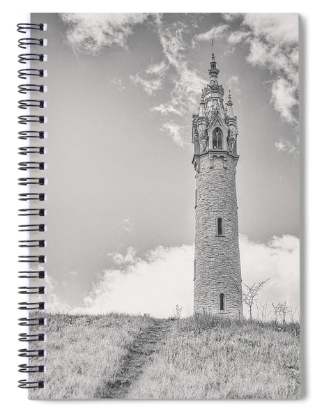 The Castle Tower Spiral Notebook
