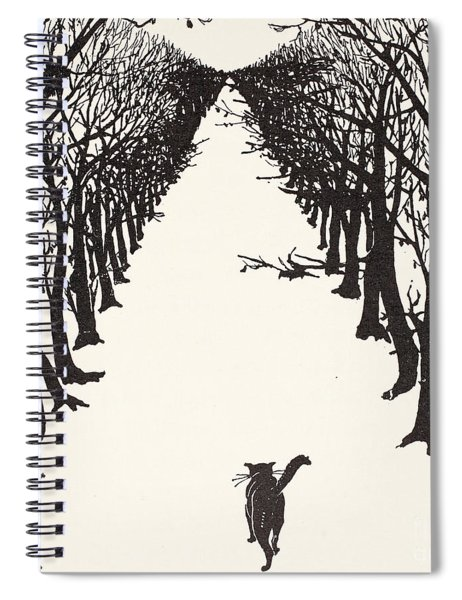 The Cat That Walked By Himself Spiral Notebook
