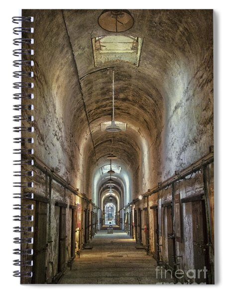 The Cell Block Spiral Notebook