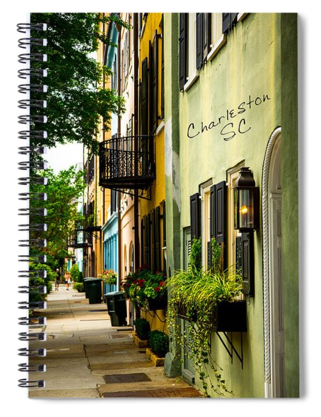 The Charm Of Charleston Spiral Notebook
