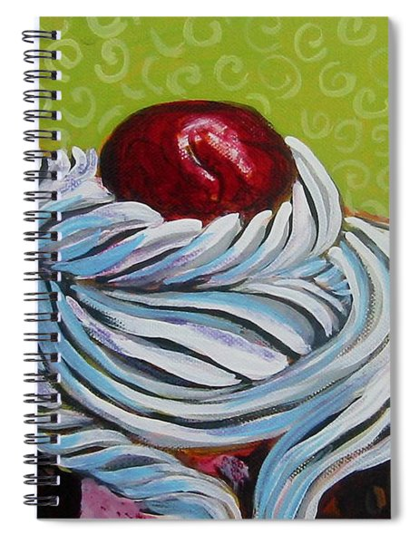 The Cherry On Top Spiral Notebook