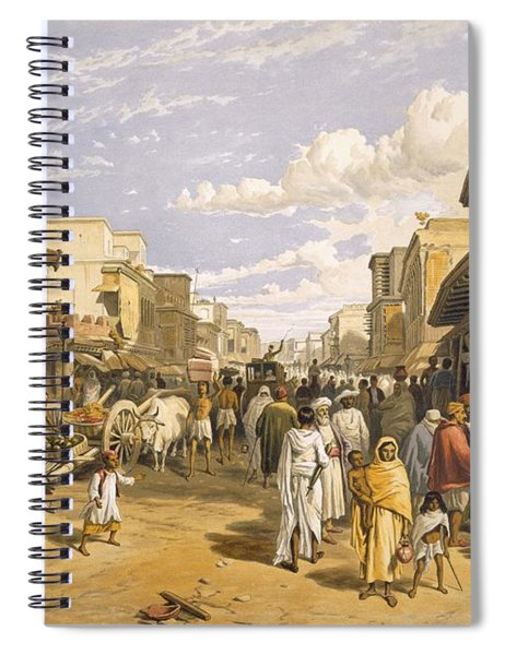 The Chitpore Road, From India Ancient Spiral Notebook