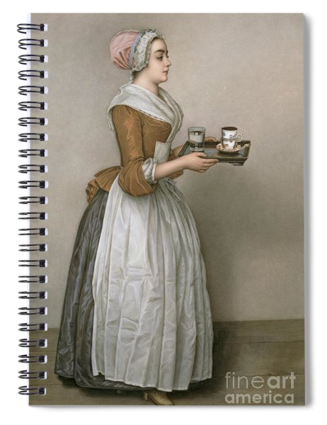 The Chocolate Girl Spiral Notebook
