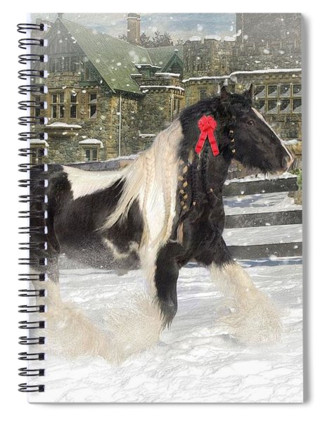 The Christmas Pony Spiral Notebook