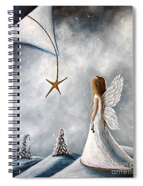 The Christmas Star Original Artwork Spiral Notebook