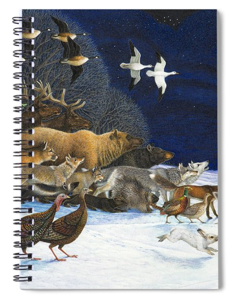 The Christmas Star Spiral Notebook