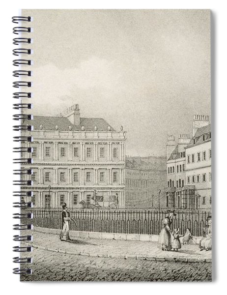 The Circus, Bath, C.1883 Spiral Notebook