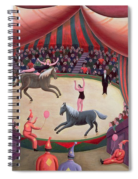 The Circus Ring Spiral Notebook