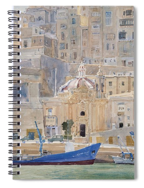 The City Of Stone Spiral Notebook