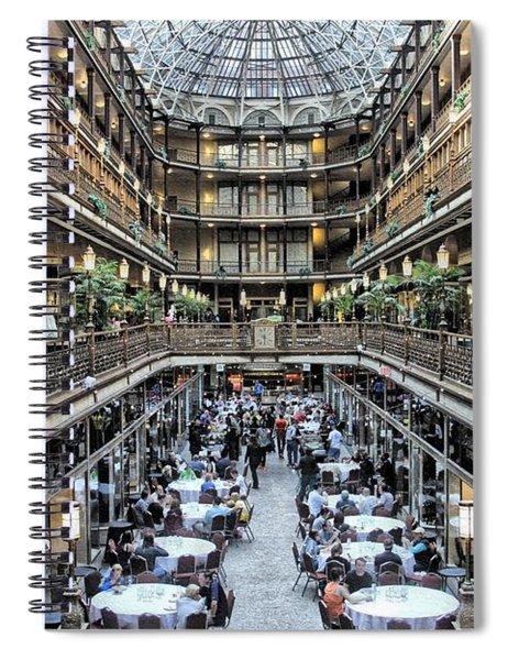 The Cleveland Arcade Spiral Notebook