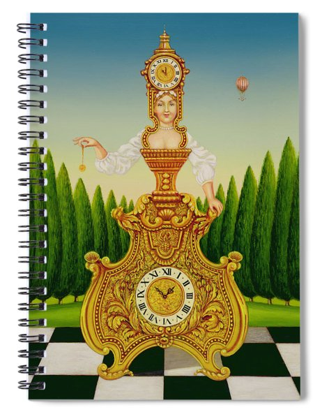 The Clockmakers Wife Spiral Notebook