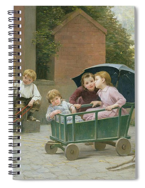 The Coach Ride Spiral Notebook