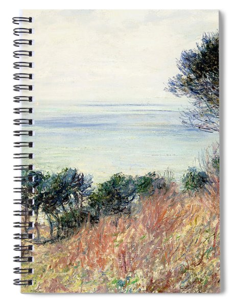 The Coast Of Varengeville Spiral Notebook