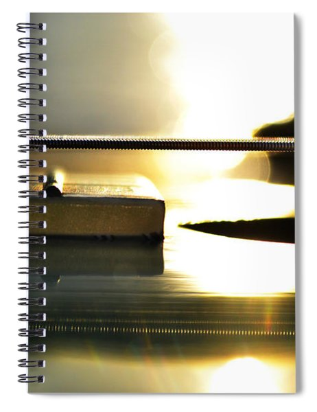 The Color Of Music Spiral Notebook