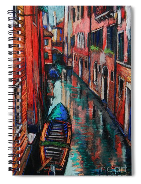 The Colors Of Venice Spiral Notebook