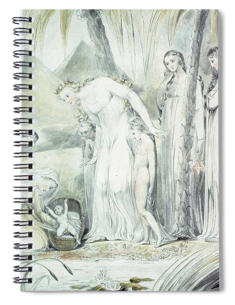 The Compassion Of Pharaohs Daughter Or The Finding Of Moses Spiral Notebook