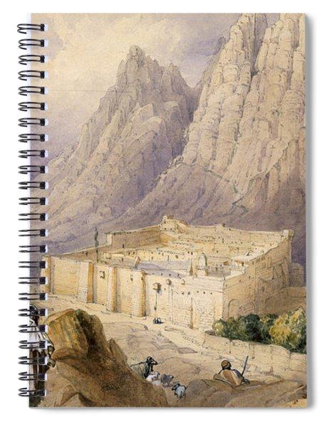 The Convent Of St. Catherine, Mount Spiral Notebook