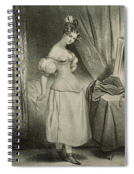 The Corset Spiral Notebook