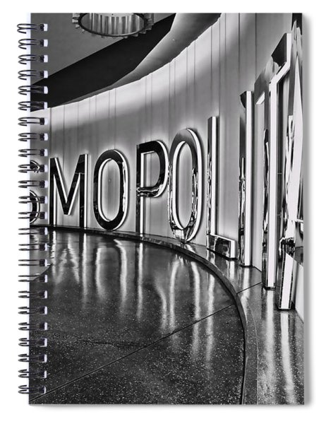 The Cosmopolitan Hotel Las Vegas By Diana Sainz Spiral Notebook