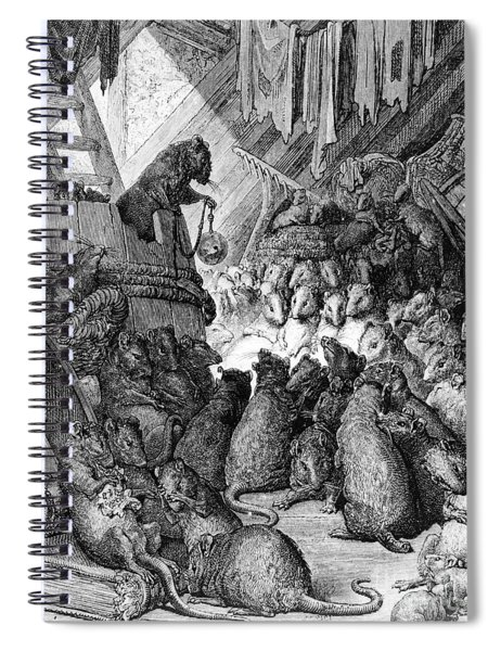 The Council Held By The Rats Spiral Notebook