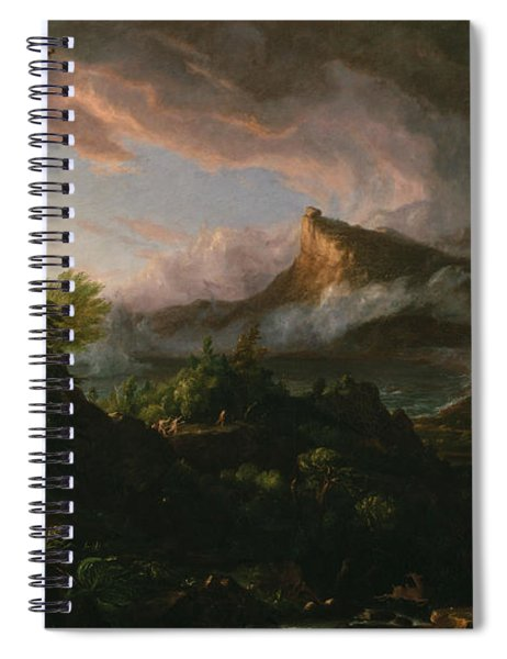 The Course Of Empire The Savage State  Spiral Notebook