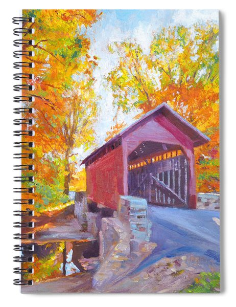 The Covered Bridge Spiral Notebook