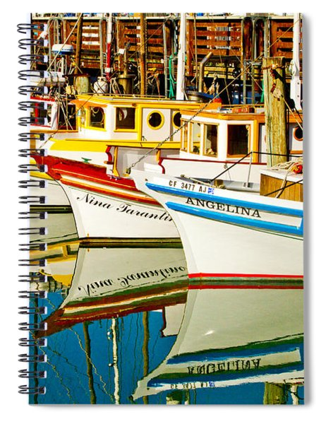 The Crab Fleet Spiral Notebook