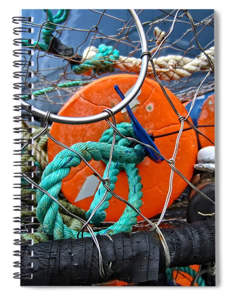 Crab Ring Spiral Notebook