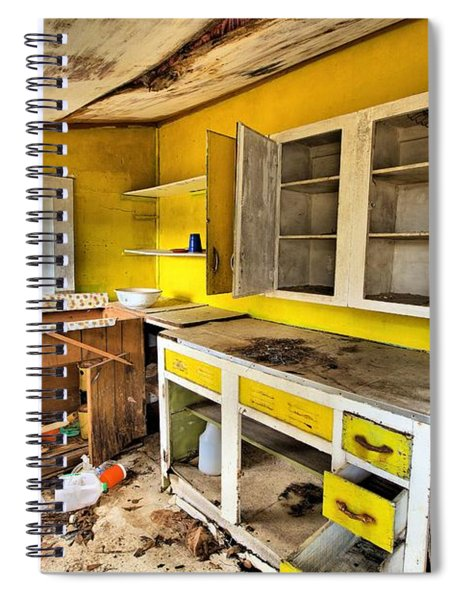 The Cupboard Is Bare Spiral Notebook