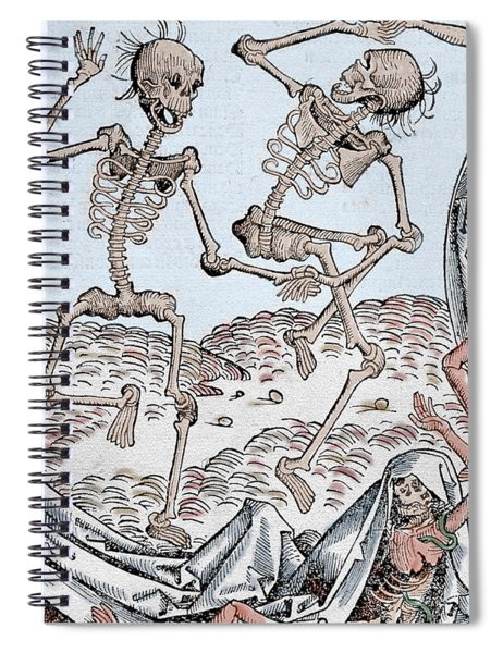 The Dance Of Death Spiral Notebook