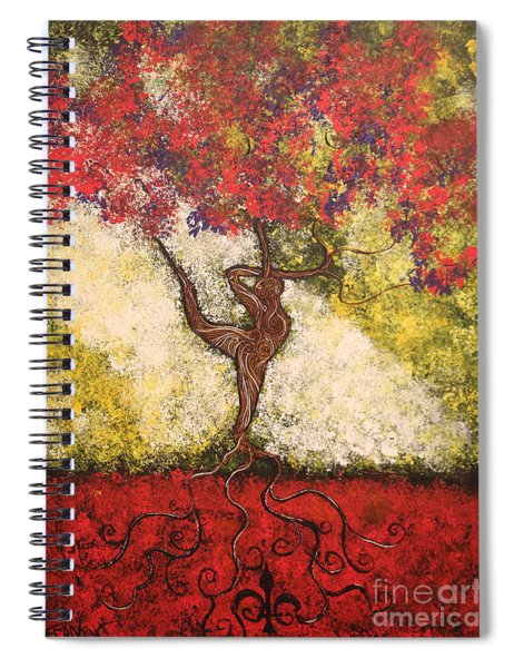 The Dancer Series 7 Spiral Notebook