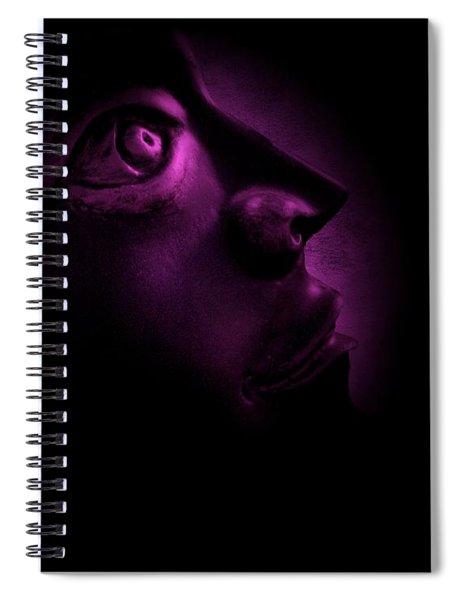 The Darkest Hour - Magenta Spiral Notebook