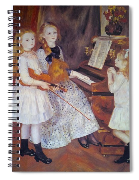 The Daughters Of Catulle Mendes Spiral Notebook