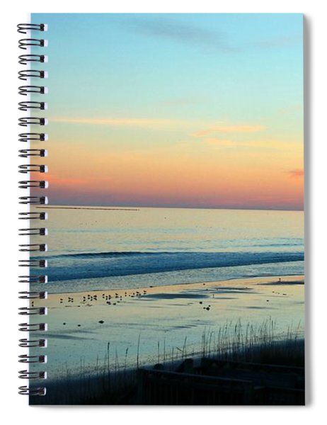 The Day Ends Spiral Notebook