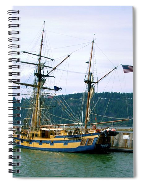 The Days Of Sails Spiral Notebook