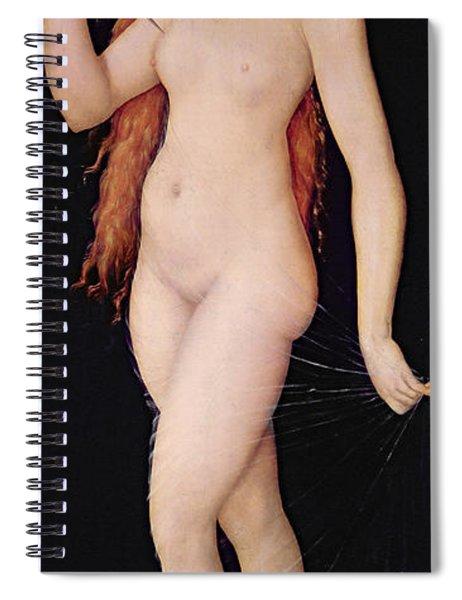 The Death Of Lucretia Spiral Notebook