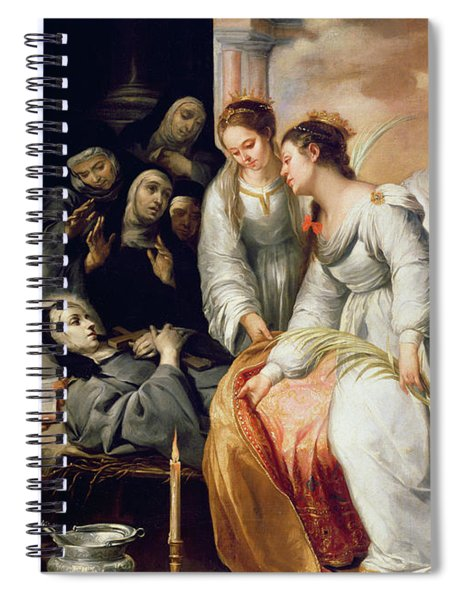 The Death Of Saint Clare Spiral Notebook