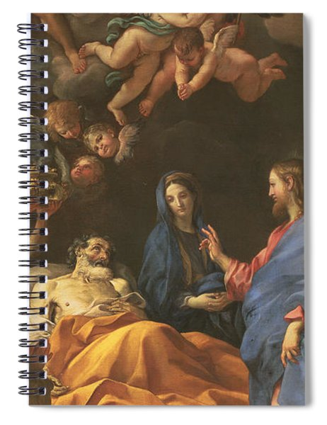 The Death Of Saint Joseph Spiral Notebook