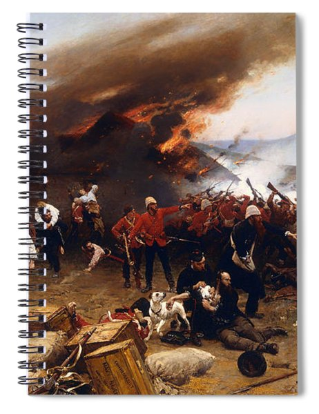 The Defence Of Rorke's Drift 1879 Spiral Notebook