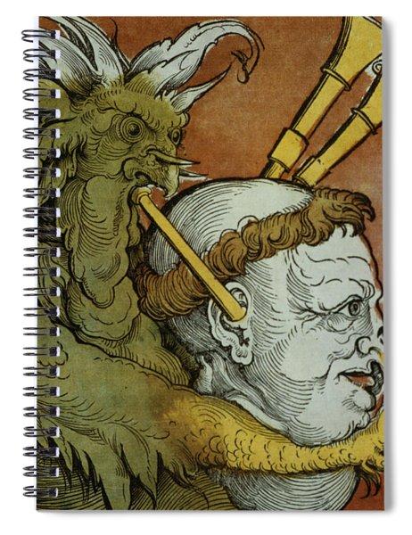 The Devil Spiral Notebook